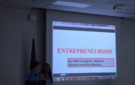 DECA members educate students on entrepreneurship