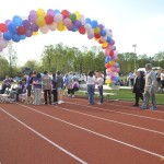As the evening began, participants gathered near the center of the field for the opening ceremonies. In addition to McLean and Langley's principals, FCPS school board members and even a pastor shared their stories and admiration for those participating.
