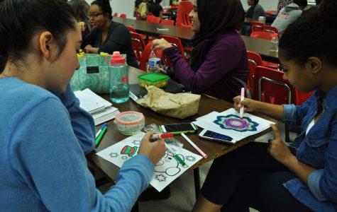 Coloring Cares Away At Laugh More Stress Less Week