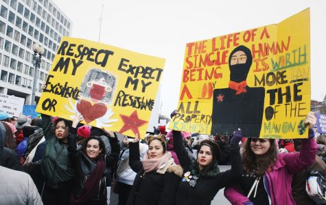 Defiant voices take over Washington in Women's March