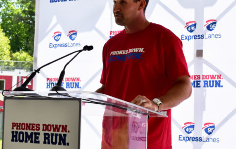 Ryan Zimmerman visits McLean for Phones Down, Home Run press conference