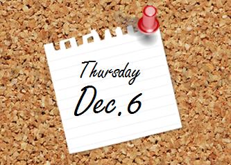 Dec. 6 Bulletin