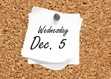 Dec. 5 Bulletin