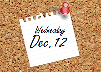 Dec. 12 Bulletin