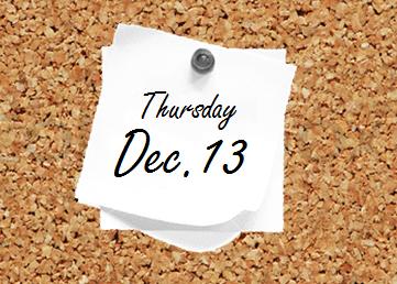Dec. 13 Bulletin