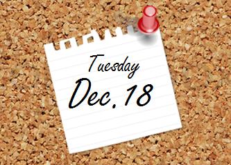 Dec. 18 Bulletin