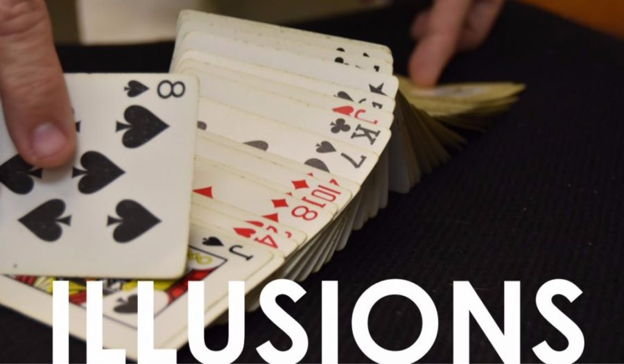 Illusions: Science teacher has a couple tricks up his sleeve