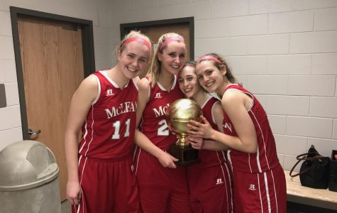 McLean girls basketball takes home win against Langley