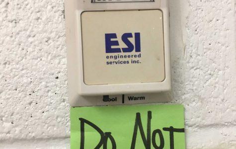 Inconsistent classroom temperatures frustrates students