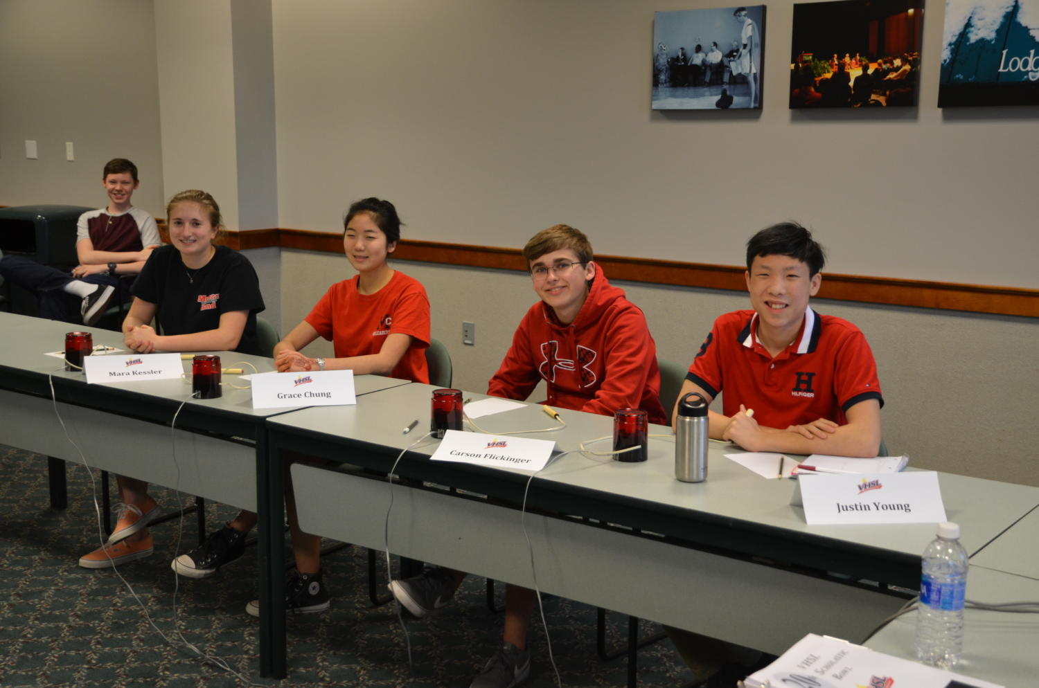 McLean students compete at last year's state tournament. (Photo courtesy of Jeffrey Brocketti)