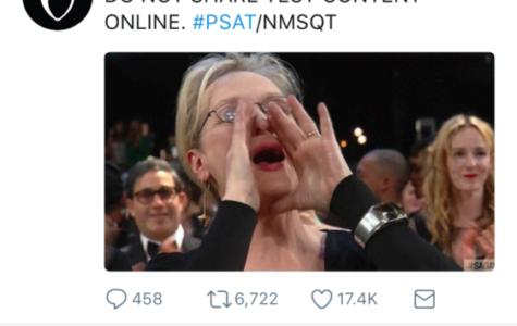 Annual PSAT memes