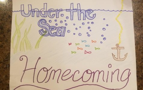 Under the sea, Homecoming will be