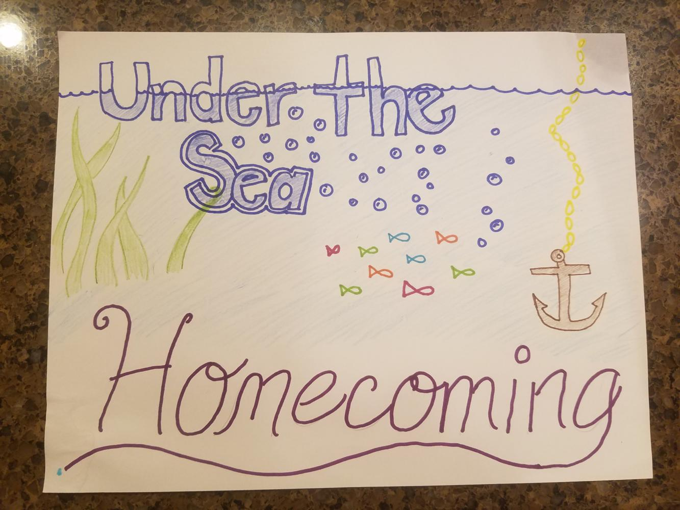 The theme for this years homecoming dance.