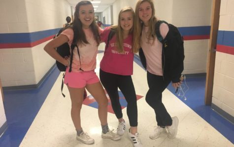 Breast cancer awareness pink-out