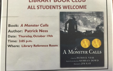 Reading a dark story called A Monster Calls, book club proves its flexibility