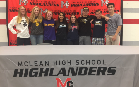 Big day for McLean's future college athletes
