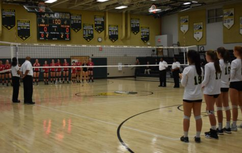 Volleyball district finals