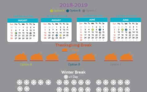 Standard Calendar for School Year 2018-2019 Options