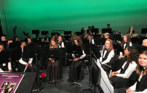 MHS Band gets into the Holiday Spirit