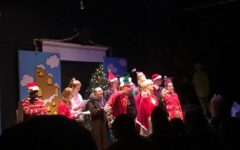 Best buddies perform beloved Christmas classic