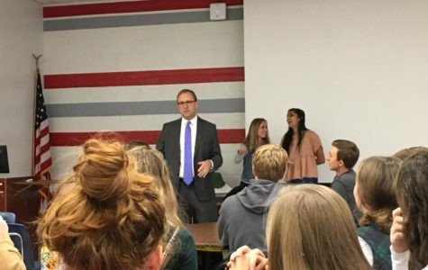 ABC News reporter speaks to AP Government classes