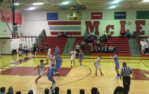 Boys varsity basketball makes a valiant effort against Marshall