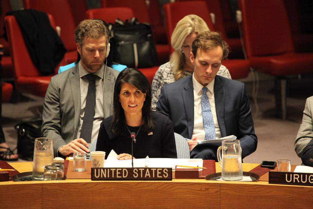 U.S. Ambassador to the UN Nikki Haley (creative commons)