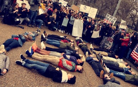 Lying down to stand up for Parkland victims