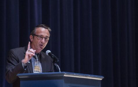 Superintendent Brabrand visits Franklin Sherman Elementary School