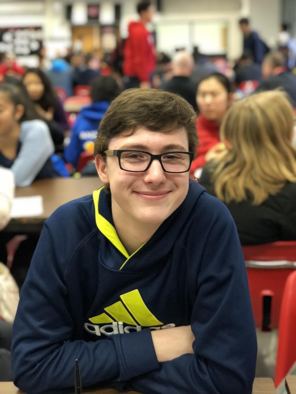 Junior Luke Garris is planning on studying over spring break.