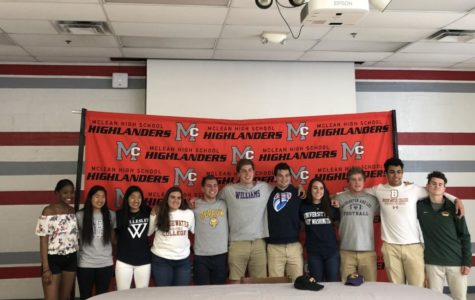 11 senior athletes commit to colleges