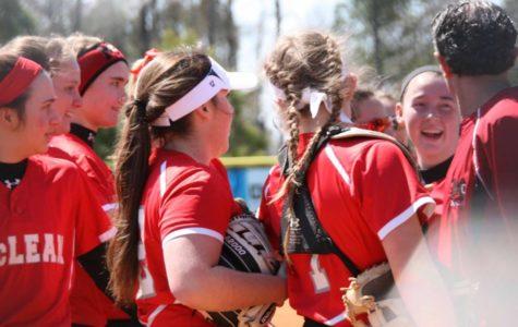 Varsity softball leads off a great season