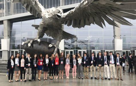 DECA students visit Atlanta for international conference
