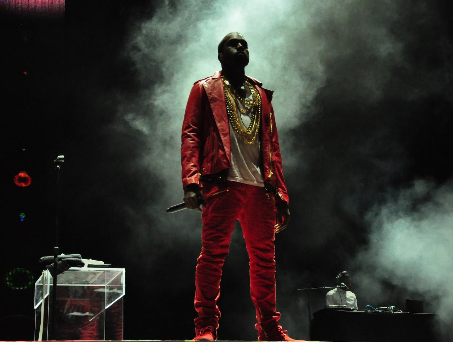 Kanye West's controversial tweets about politics have created a lot of buzz about his new music. The two tracks he released in late April were the first tracks he had released since 2016. (Photo obtained from Google Images under a Creative Commons license).