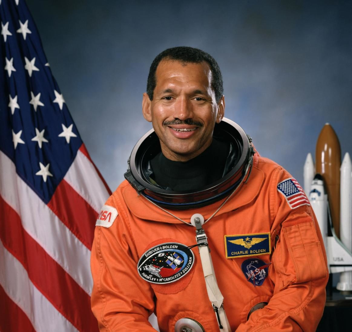 Astronaut Charles F. Bolden Jr.  Picture obtained under public domain