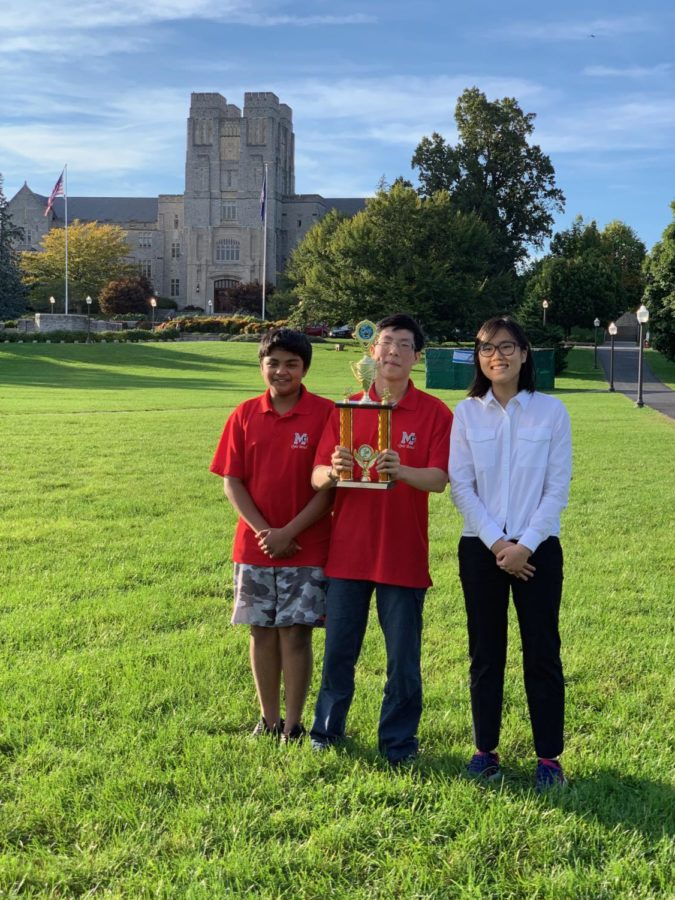 Quiz bowl team buzzes its way to first place