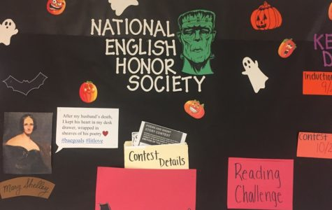 NEHS is Creepin' it Real This October