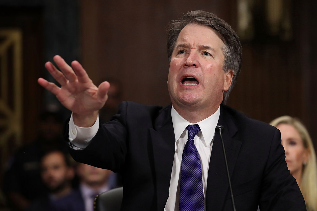 Students are conflicted over Kavanaugh's controversial, emotional appearance in front of the Senate Judiciary Committee (photo obtained via Creative Commons license)