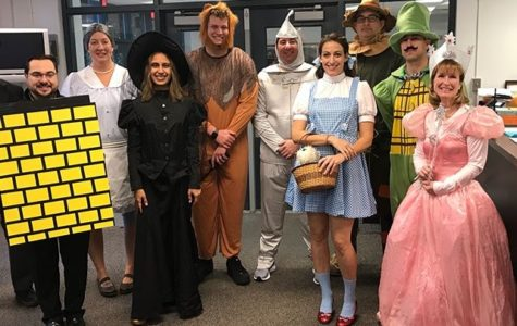Teachers celebrate Halloween in style