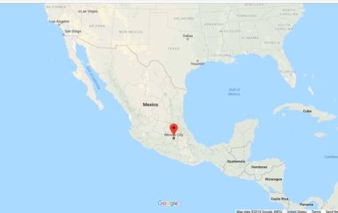 Large immigrant caravan heads towards southern U.S. border