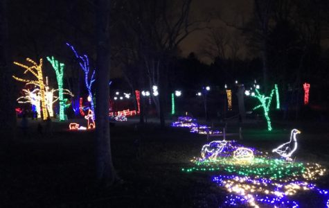 Meadowlark Gardens light up the holiday season