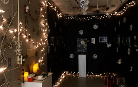 Artists get in the holiday spirit