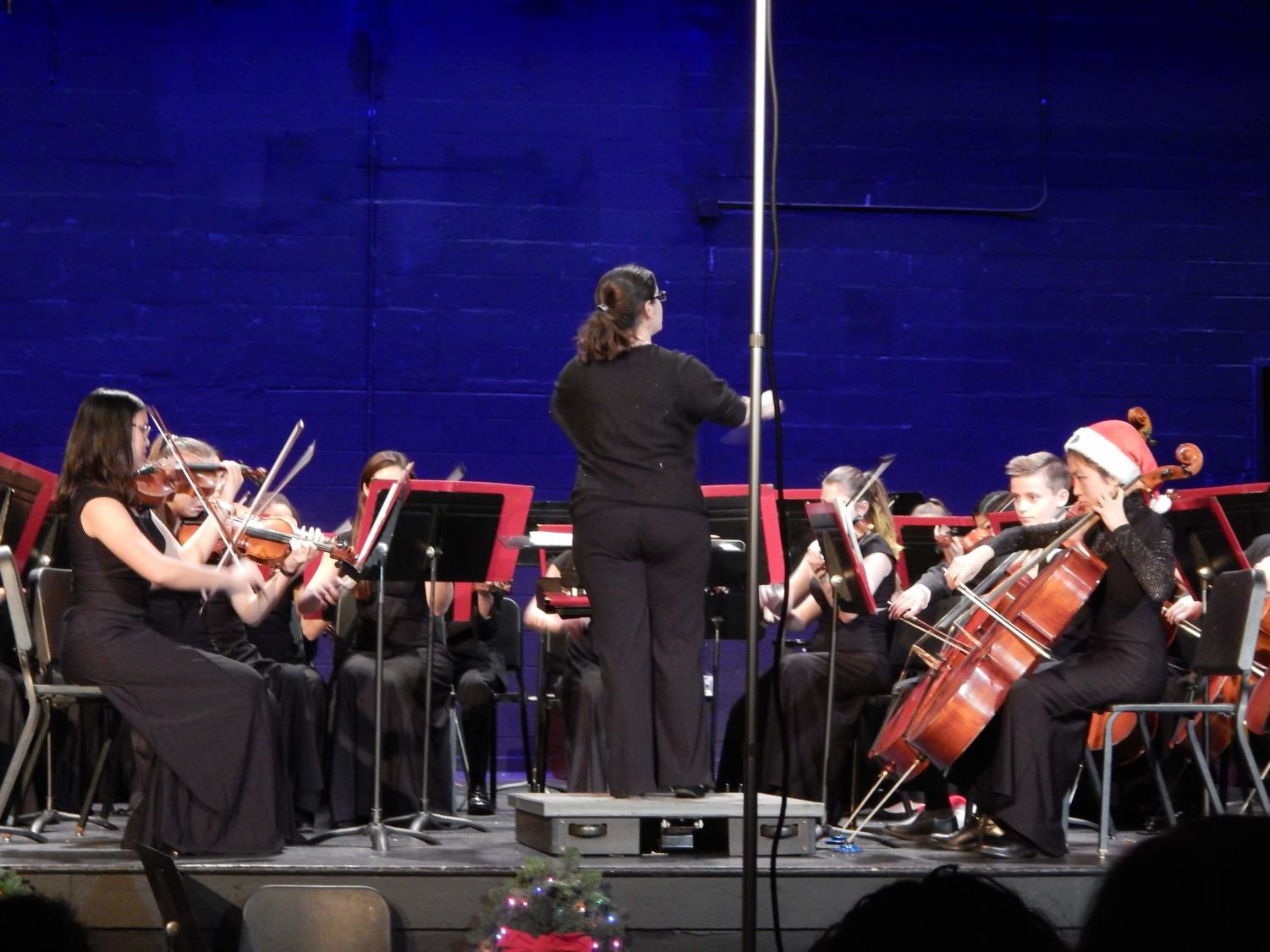 Sinfonia Orchestra proudly plays