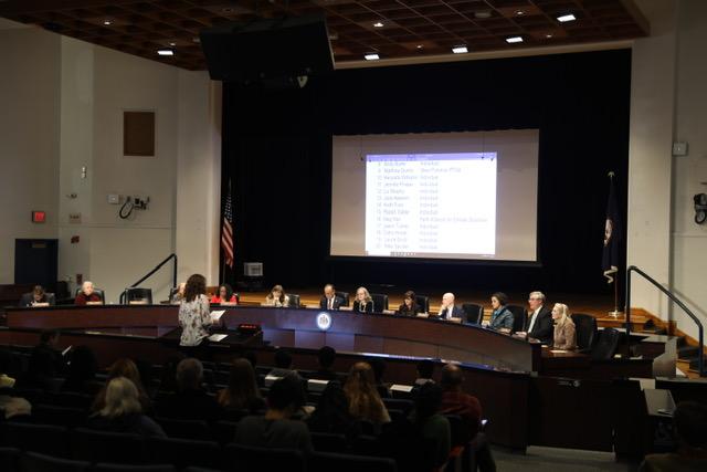 Public hearing on CIP proposal was held on Jan. 8 in Jackson Middle School.