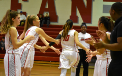 McLean varsity girls basketball v. Langley 1-11-19