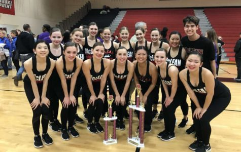 Dance team places first