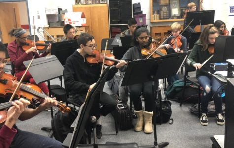 McLean students prepare for the upcoming district performance