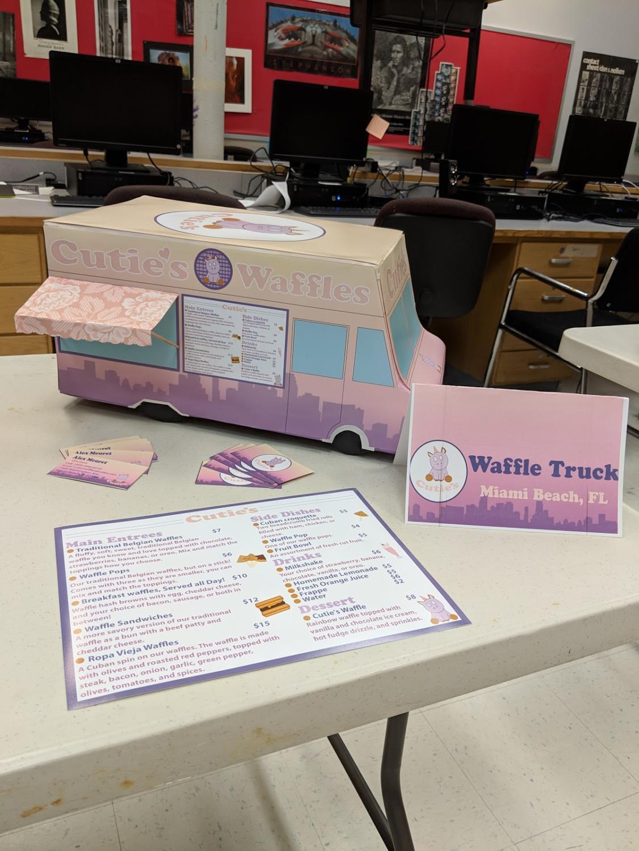 Alexandria Meuret's Waffle Truck based in Miami, FL