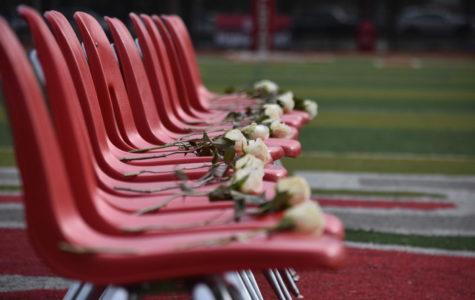 Vigil held on football field marking anniversary of Parkland shooting
