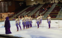 Guard performs